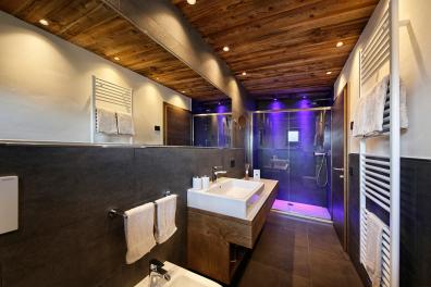 Bathroom with shower − Apartment 2