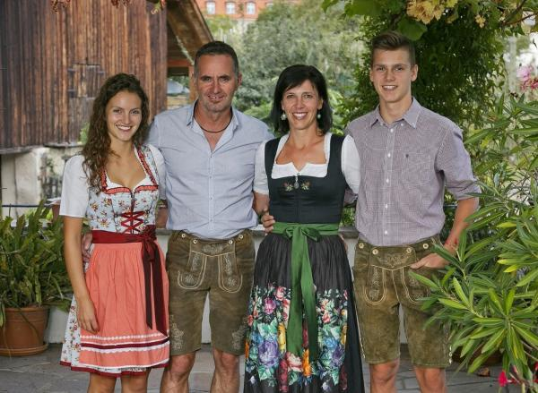 Birgit & Christoph mit Lea and Felix