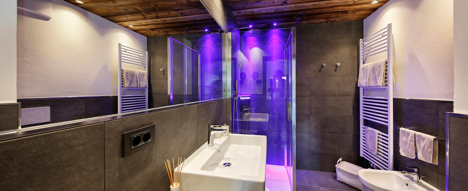 Apartment 1 − Bathroom with shower