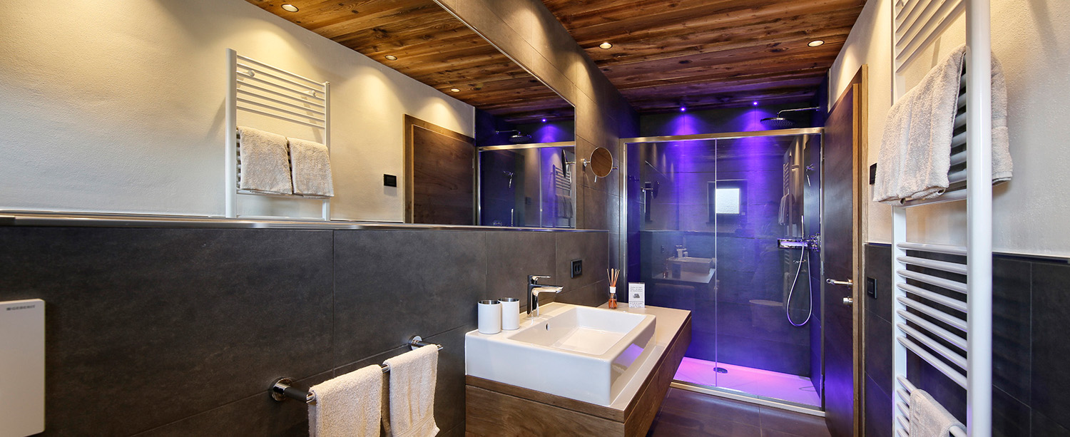 Apartment 2 − Bathroom with shower